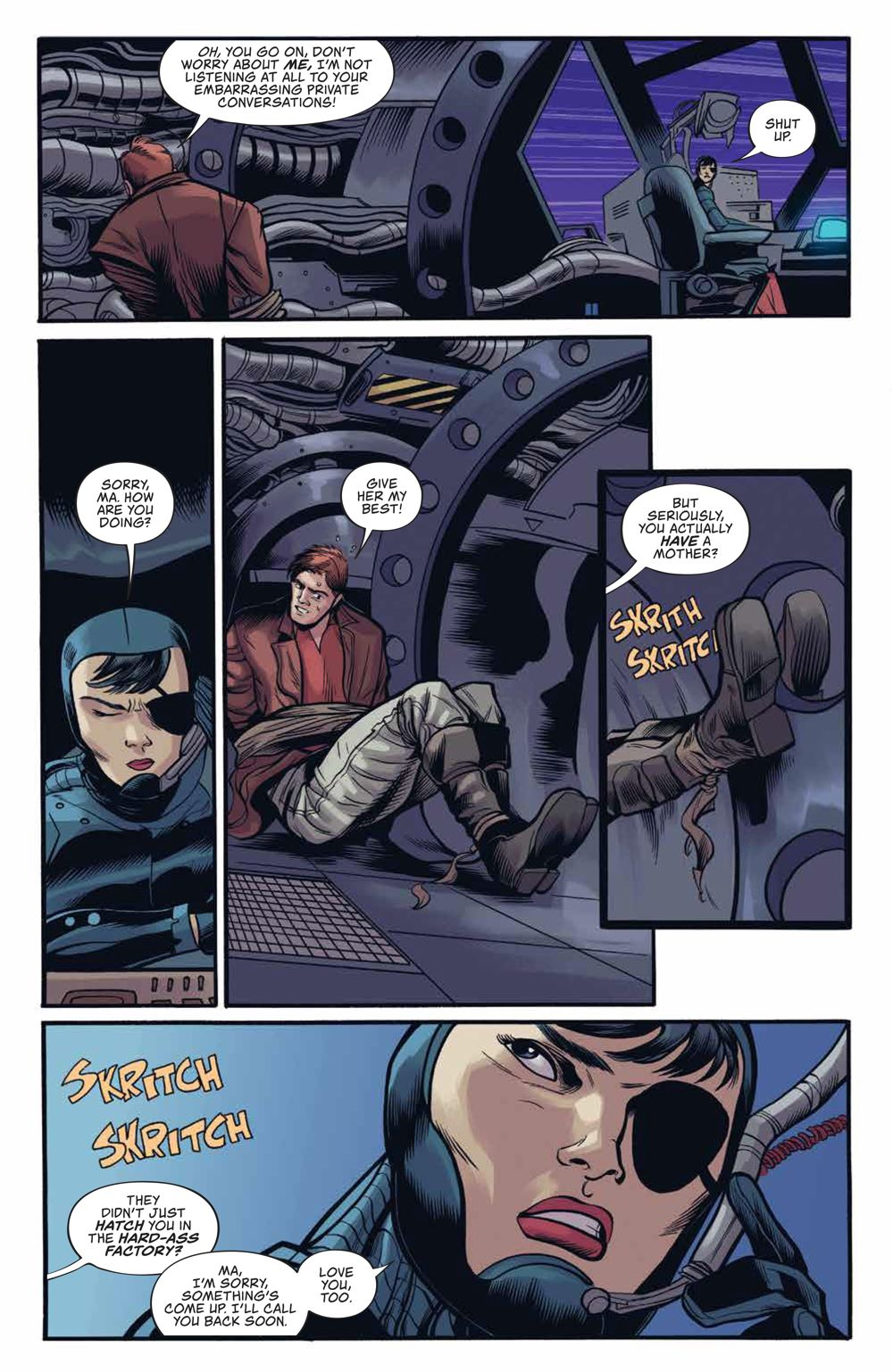 Firefly_UnificationWar_v2_SC_PRESS_19 ComicList Previews: FIREFLY THE UNIFICATION WAR VOLUME 2 TP