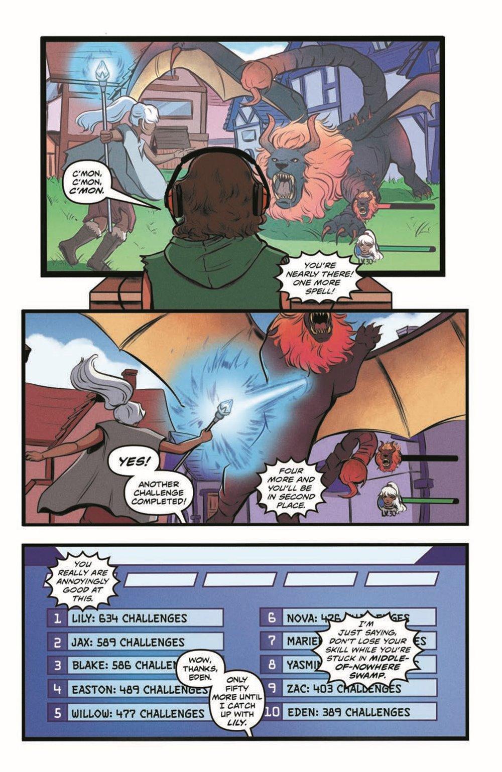 GB_SotS_VOL1_pr-4 ComicList Previews: GOOSEBUMPS SECRET OF THE SWAMP TP