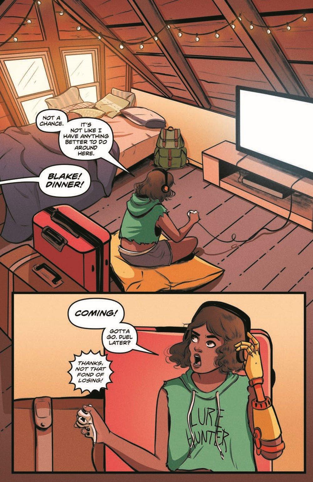 GB_SotS_VOL1_pr-5 ComicList Previews: GOOSEBUMPS SECRET OF THE SWAMP TP