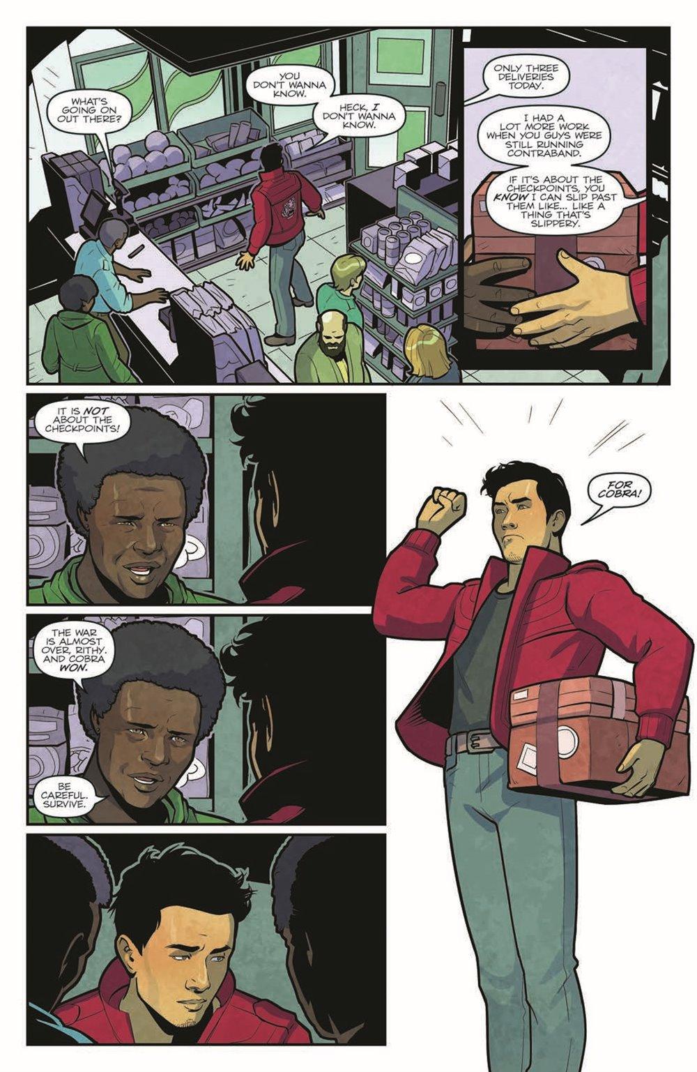 GIJOE_TPB_WoF_pr-5 ComicList Previews: G.I. JOE VOLUME 1 WORLD ON FIRE TP