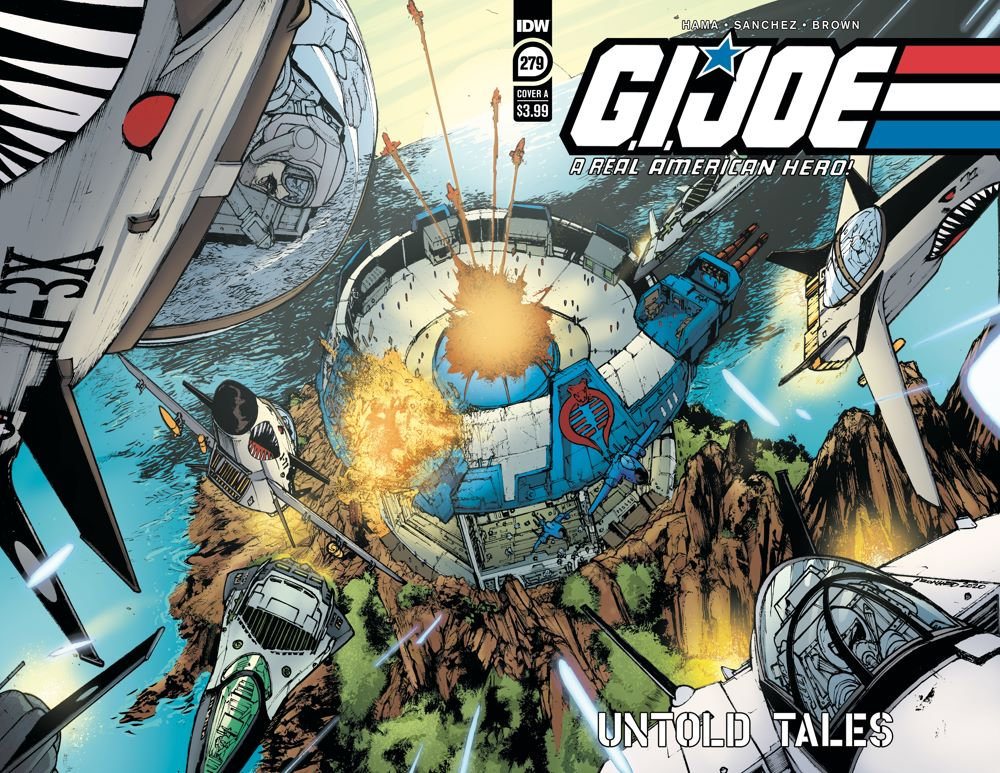 GIJoeRAH279-coverA ComicList Previews: G.I. JOE A REAL AMERICAN HERO #279