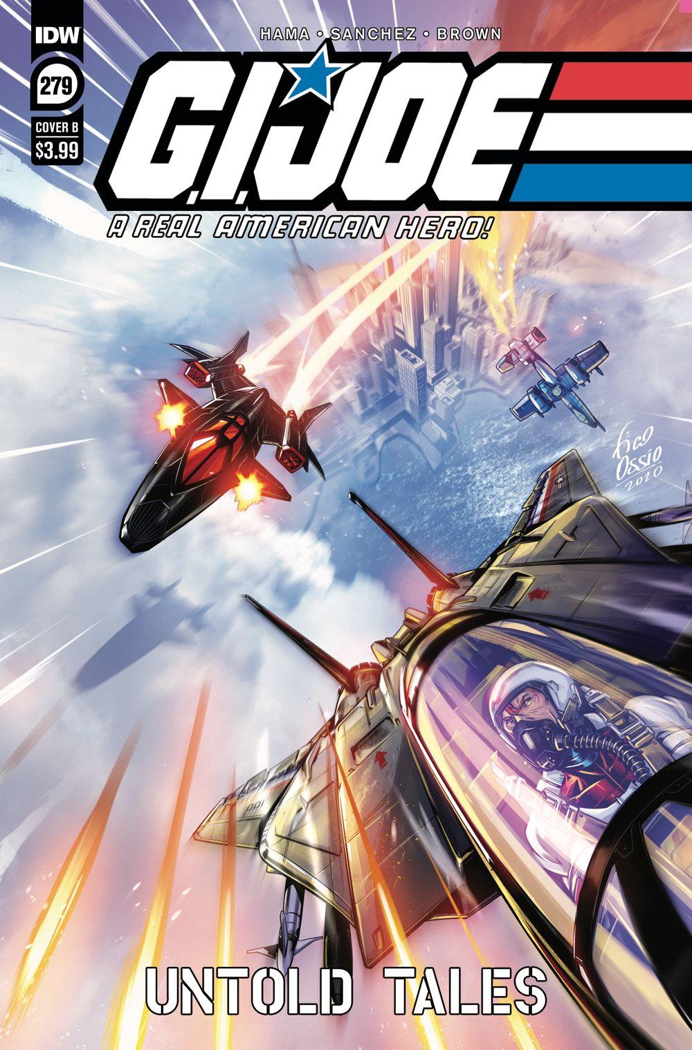 GIJoeRAH279-coverB ComicList Previews: G.I. JOE A REAL AMERICAN HERO #279