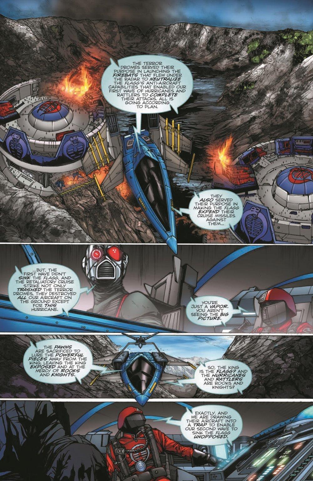 GIJoeRAH279-pr-6 ComicList Previews: G.I. JOE A REAL AMERICAN HERO #279