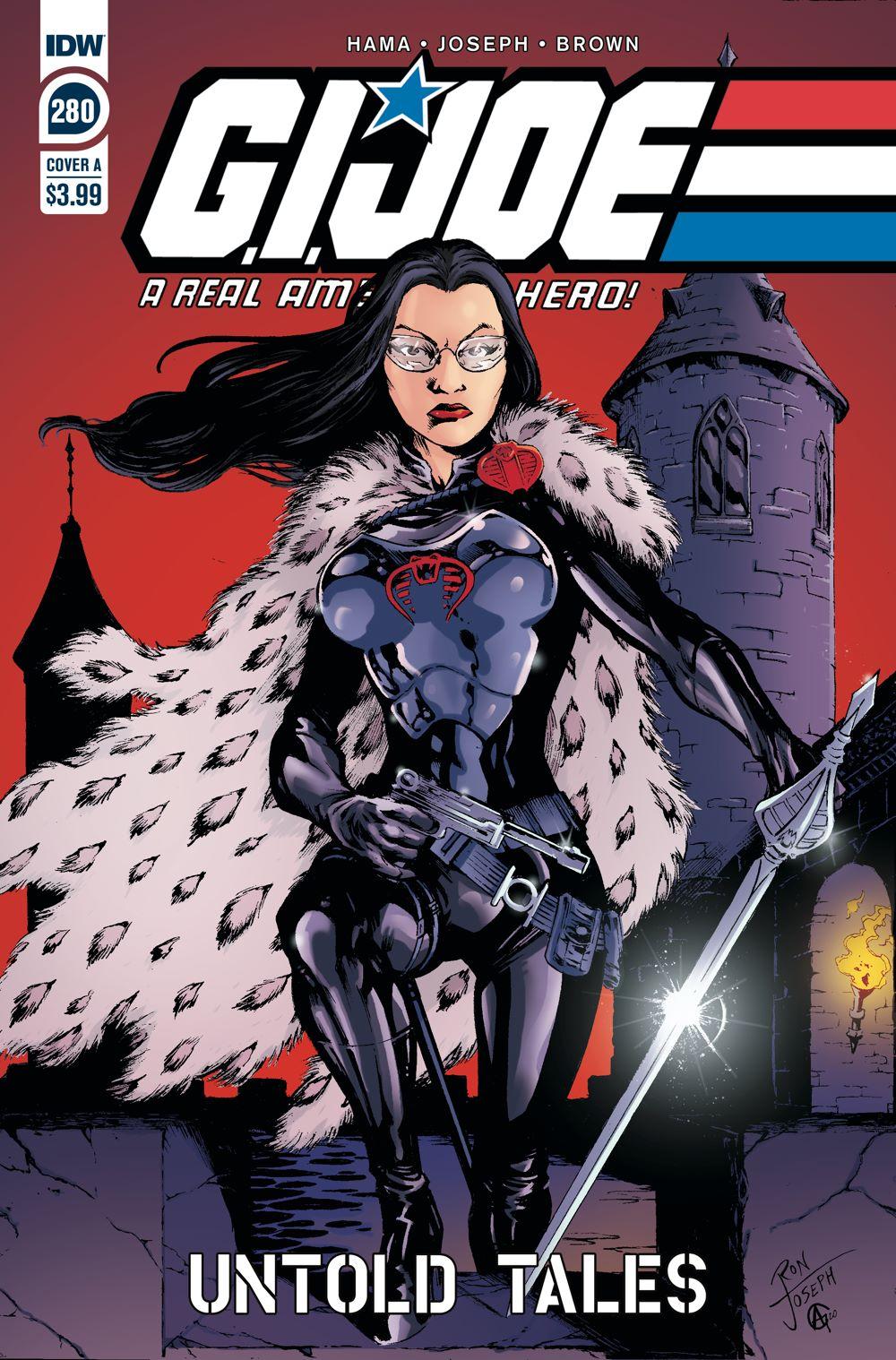 GIJoeRAH280-coverA ComicList Previews: G.I. JOE A REAL AMERICAN HERO #280