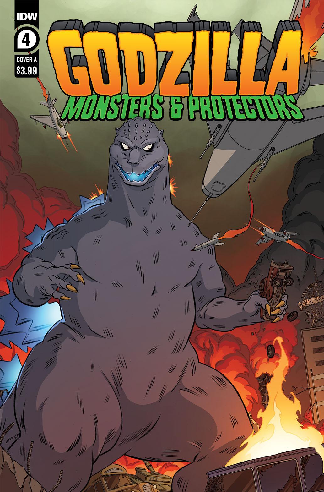 Godzilla_MP04-coverA-copy IDW Publishing July 2021 Solicitations