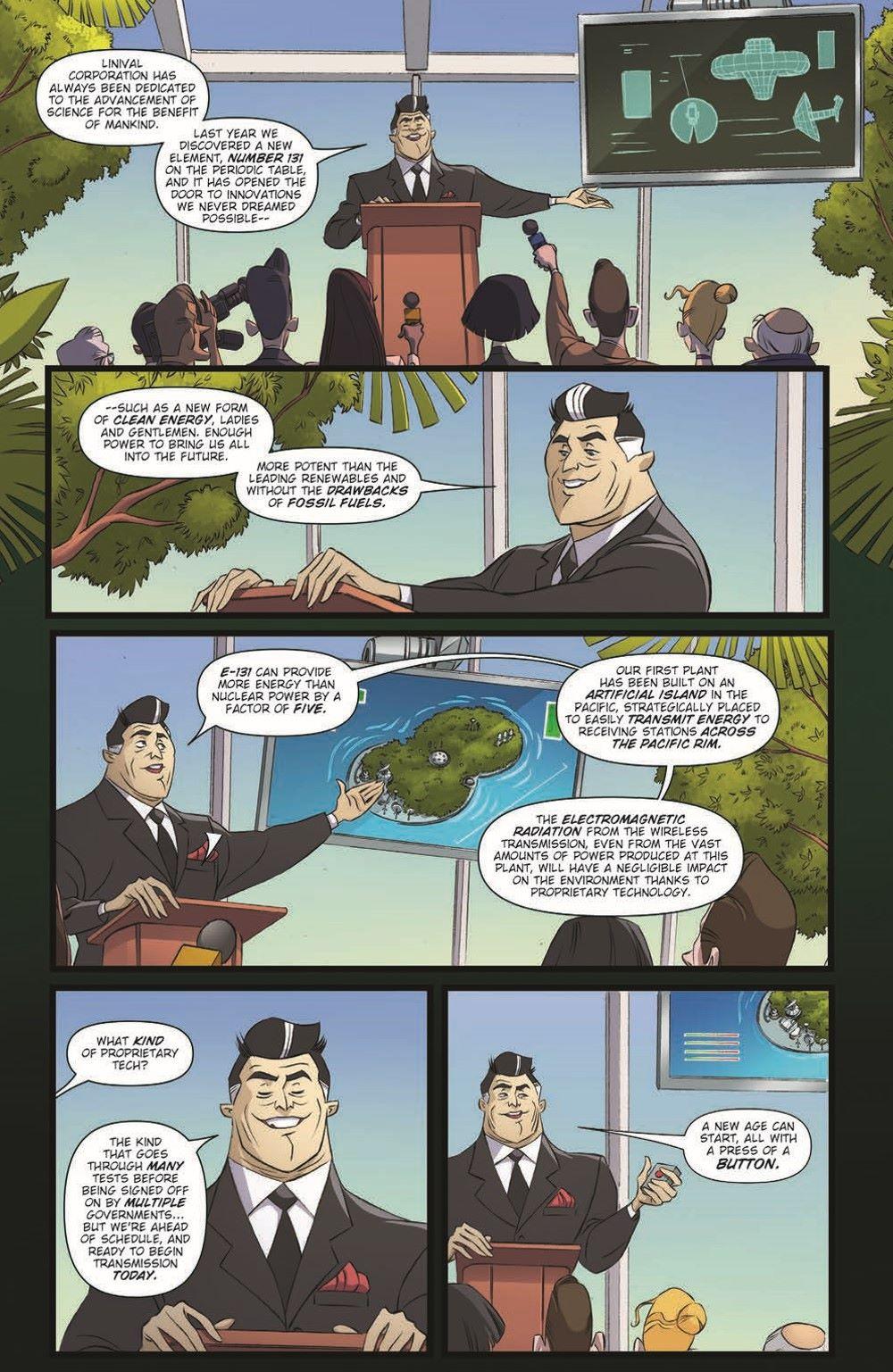 Godzilla_MnP_01_pr-7 ComicList Previews: GODZILLA MONSTERS AND PROTECTORS #1 (OF 5)
