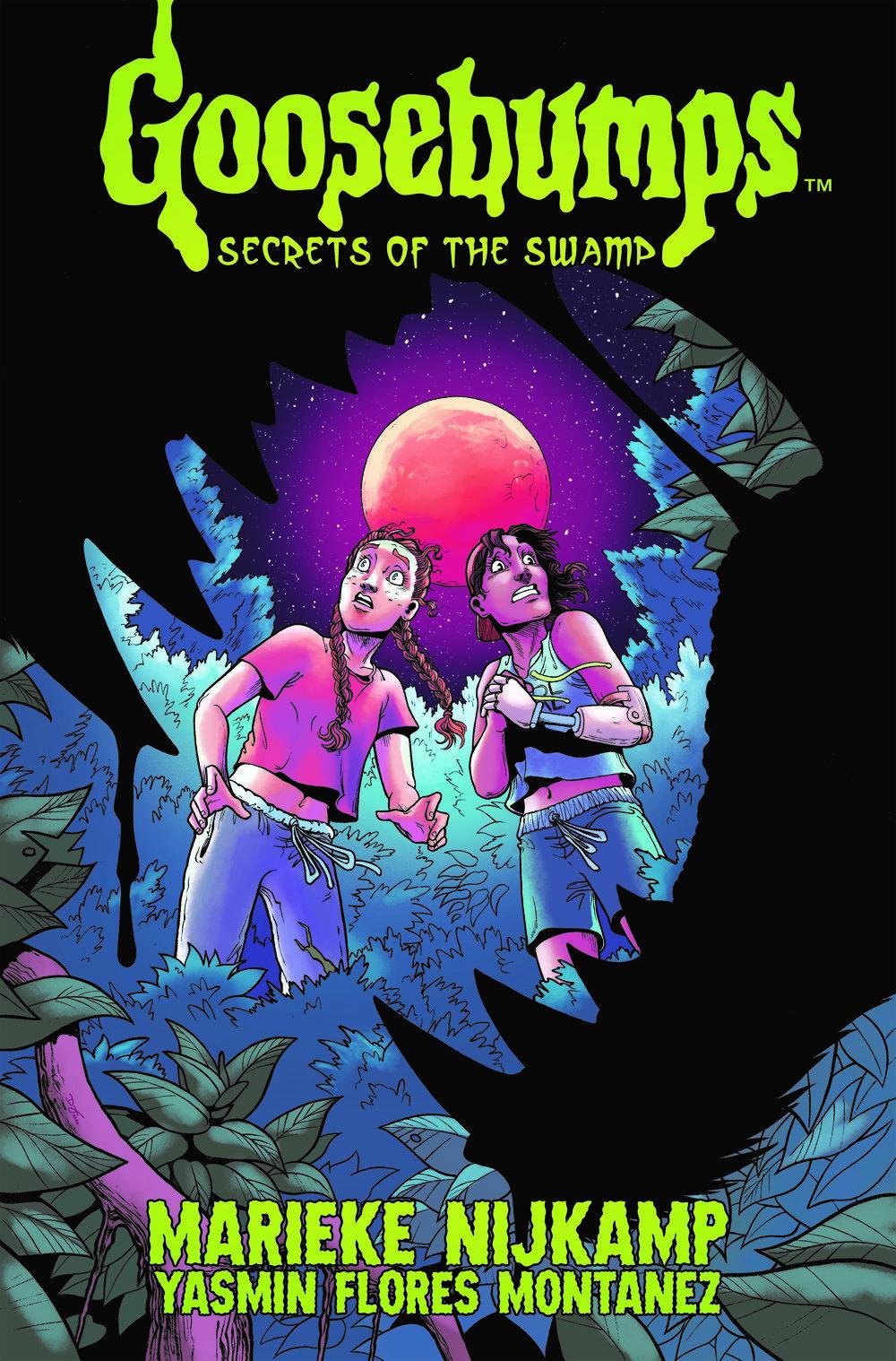 Goosebumps_SotS_cvr ComicList Previews: GOOSEBUMPS SECRET OF THE SWAMP TP