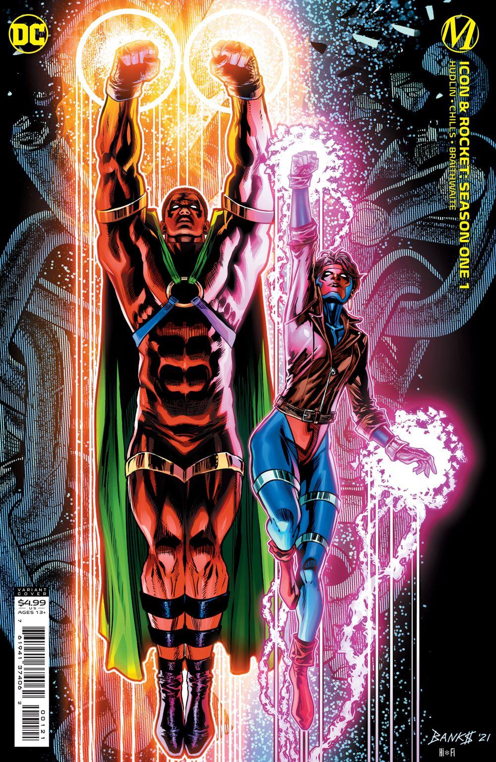 ICON_ROCKET_Cv1_Var DC Comics July 2021 Solicitations