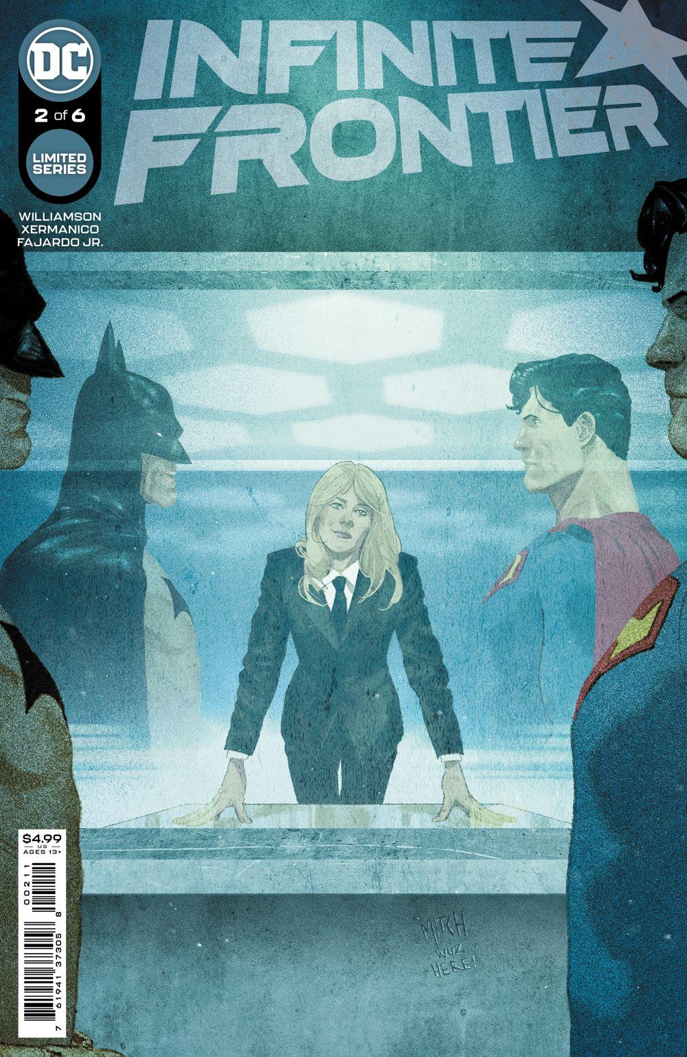 INFINITE_FRONTIER_Cv2 DC Comics July 2021 Solicitations