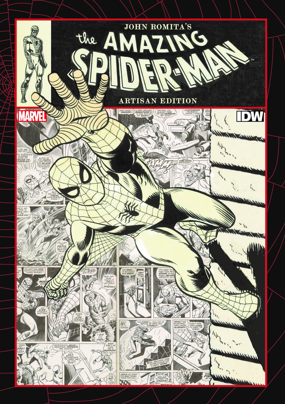 Jo-2 ComicList Previews: JOHN ROMITA'S THE AMAZING SPIDER-MAN ARTISAN EDITION TP