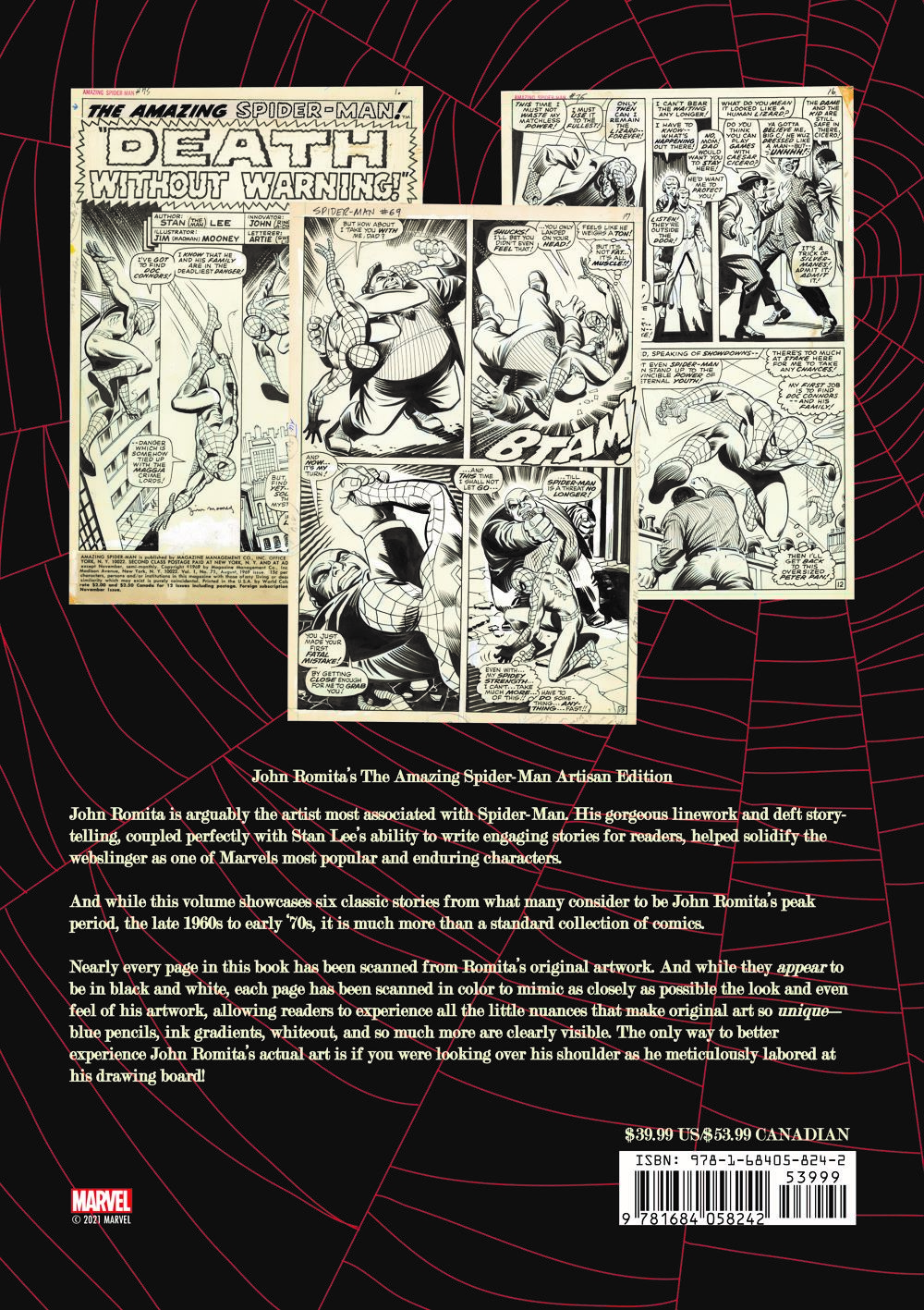 Jo ComicList Previews: JOHN ROMITA'S THE AMAZING SPIDER-MAN ARTISAN EDITION TP