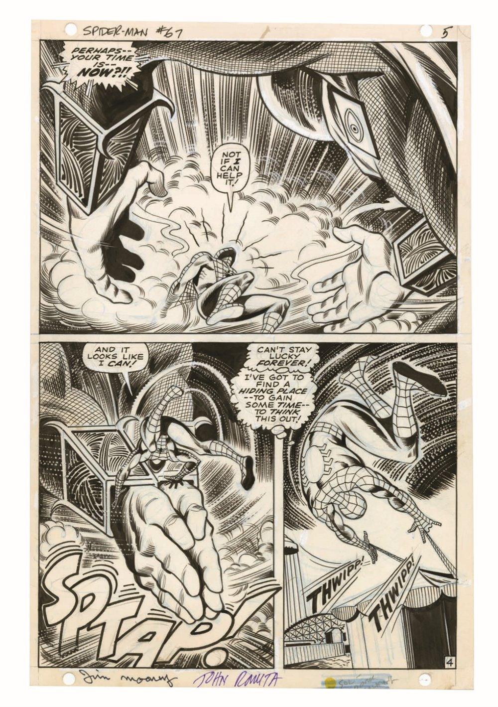 JohnRomita_Spidermand_Artisan_pr-6 ComicList Previews: JOHN ROMITA'S THE AMAZING SPIDER-MAN ARTISAN EDITION TP