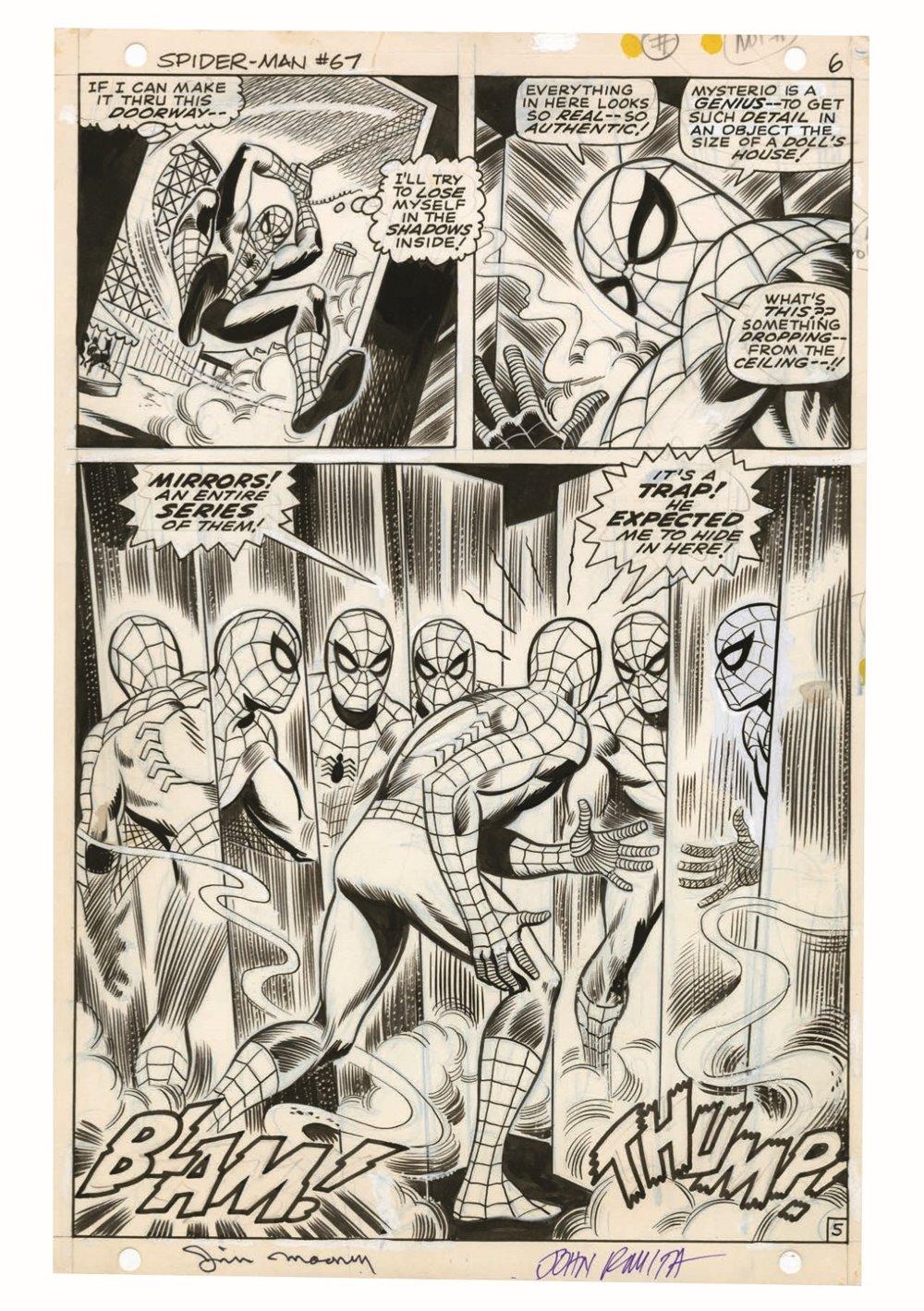 JohnRomita_Spidermand_Artisan_pr-7 ComicList Previews: JOHN ROMITA'S THE AMAZING SPIDER-MAN ARTISAN EDITION TP