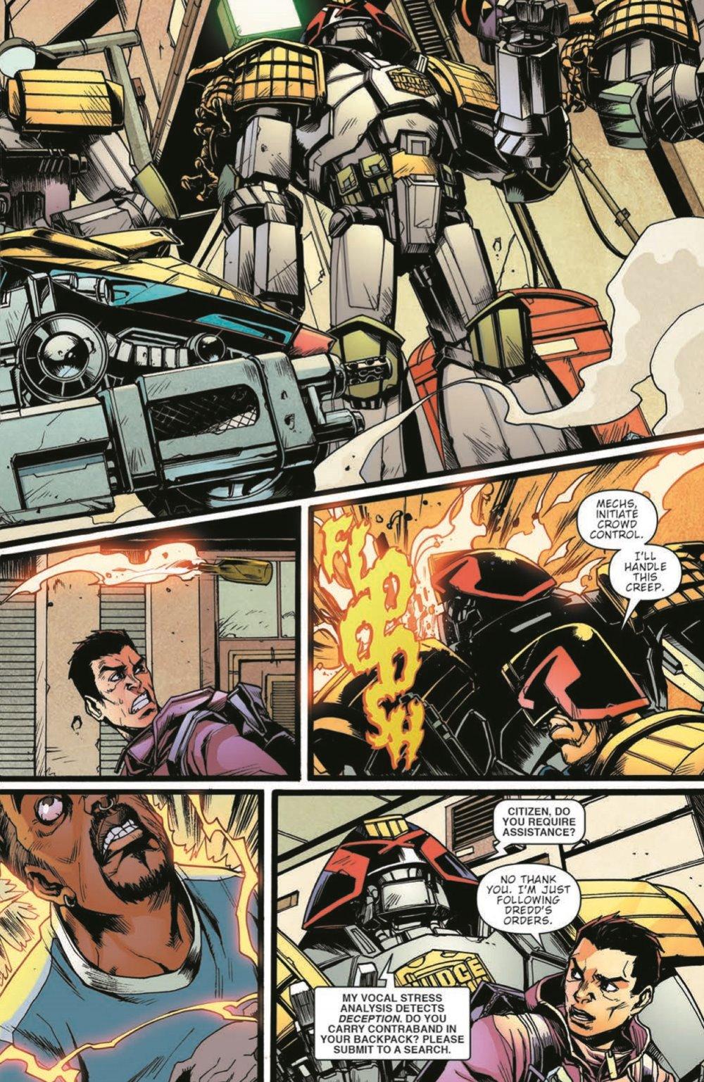 JudgeDredd_FalseWitness_pr-7 ComicList Previews: JUDGE DREDD FALSE WITNESS TP