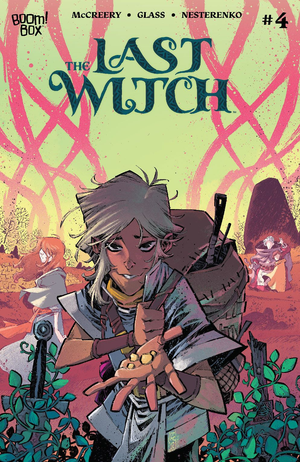 LastWitch_004_Cover_B_Variant ComicList Previews: THE LAST WITCH #4