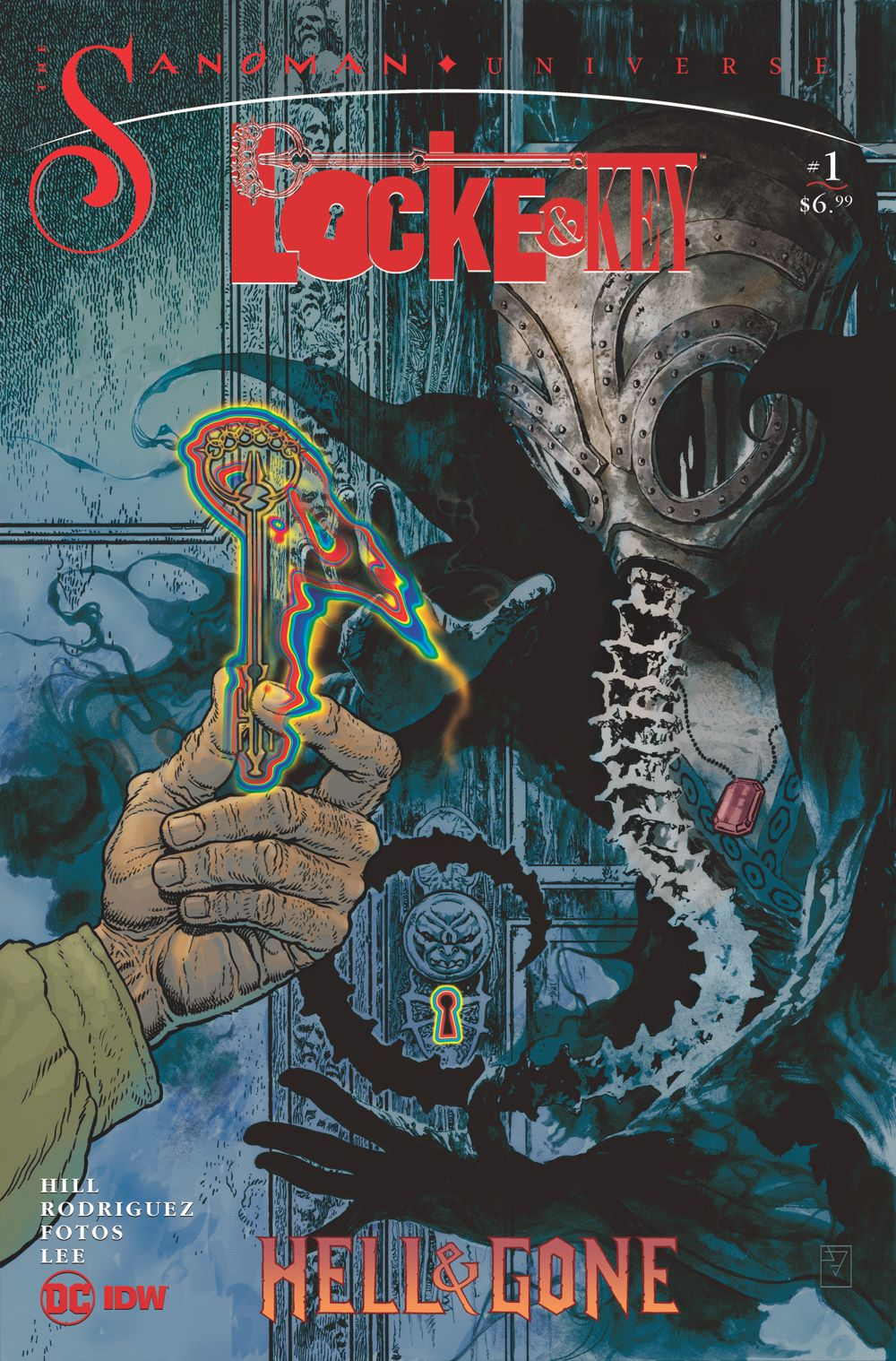 LnK-Sandma-2 ComicList Previews: LOCKE AND KEY THE SANDMAN UNIVERSE HELL AND GONE #1