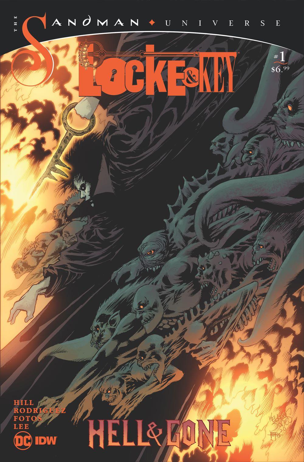 LnK-Sandma-3 ComicList Previews: LOCKE AND KEY THE SANDMAN UNIVERSE HELL AND GONE #1