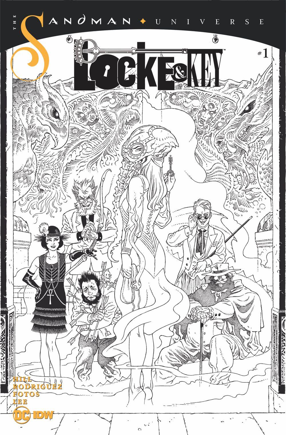 LnK-Sandma-4 ComicList Previews: LOCKE AND KEY THE SANDMAN UNIVERSE HELL AND GONE #1