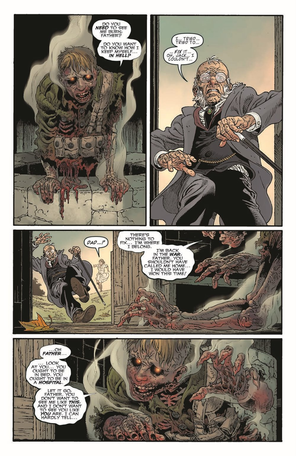 LnK-Sandman01_pr-4 ComicList Previews: LOCKE AND KEY THE SANDMAN UNIVERSE HELL AND GONE #1