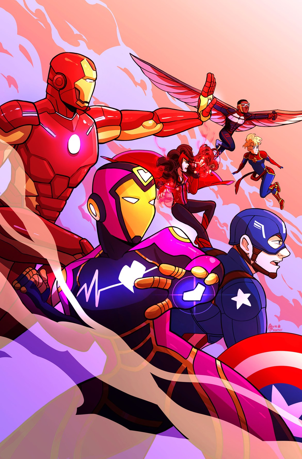 MA-Avengers-2_notfinal-copy IDW Publishing July 2021 Solicitations