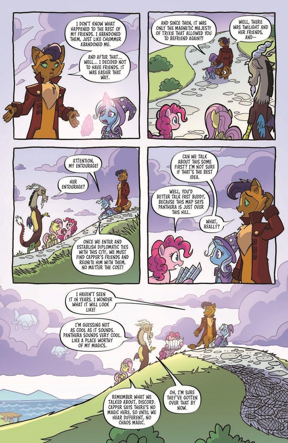 MLP96-pr-7 ComicList Previews: MY LITTLE PONY FRIENDSHIP IS MAGIC #96