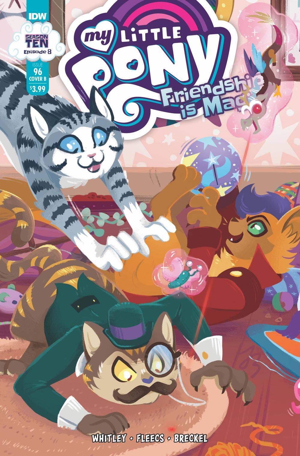 MLP96_08-coverB ComicList Previews: MY LITTLE PONY FRIENDSHIP IS MAGIC #96
