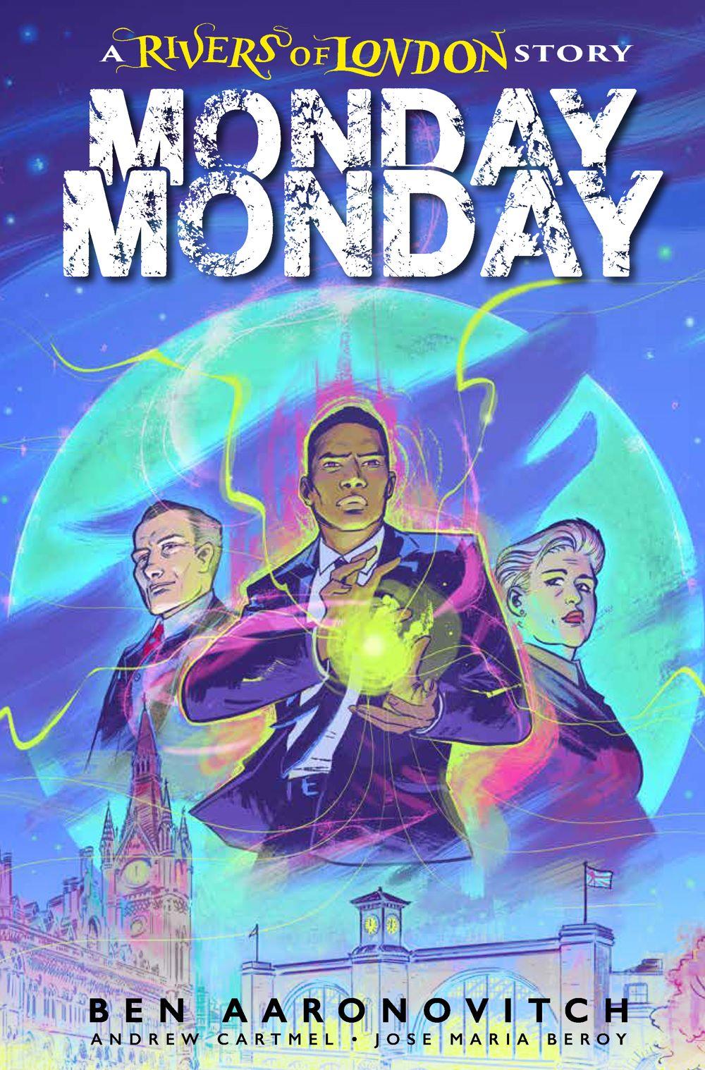 MONDAY-MONDAY-1-COVER-A-FISH Titan Comics July 2021 Solicitations