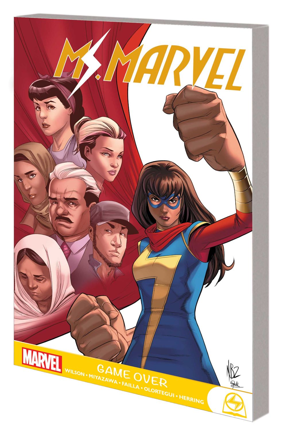 MSMARVEL_GO_GN_TPB Marvel Comics July 2021 Solicitations