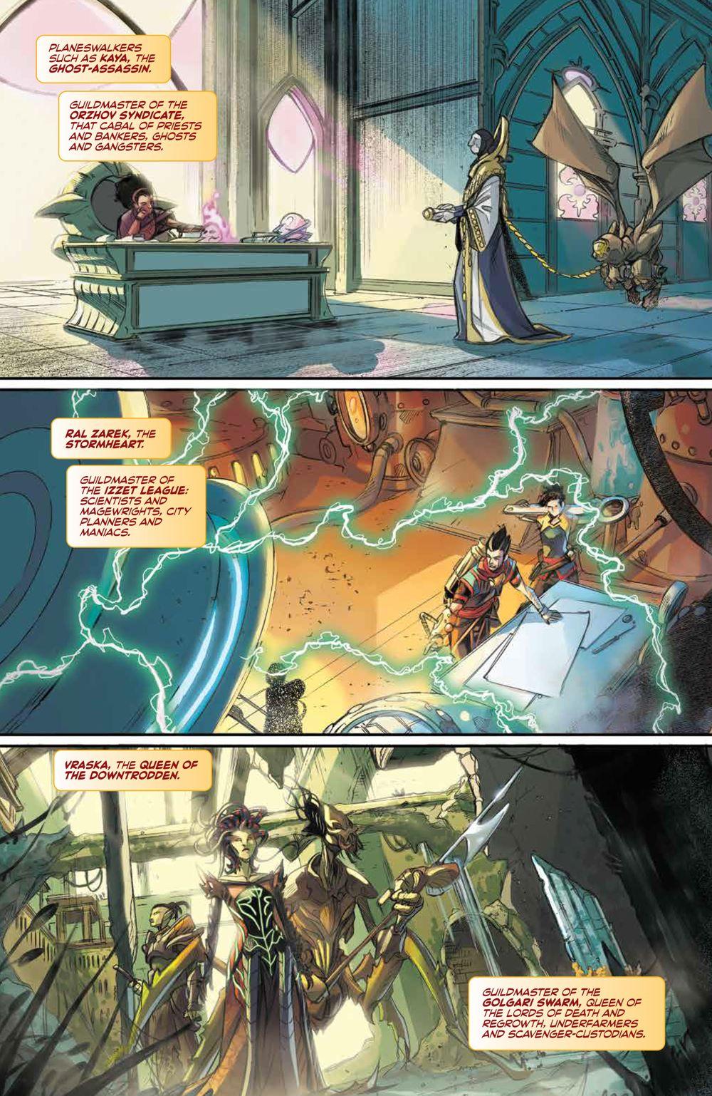 Magic_001_PRESS_7 ComicList Previews: MAGIC #1