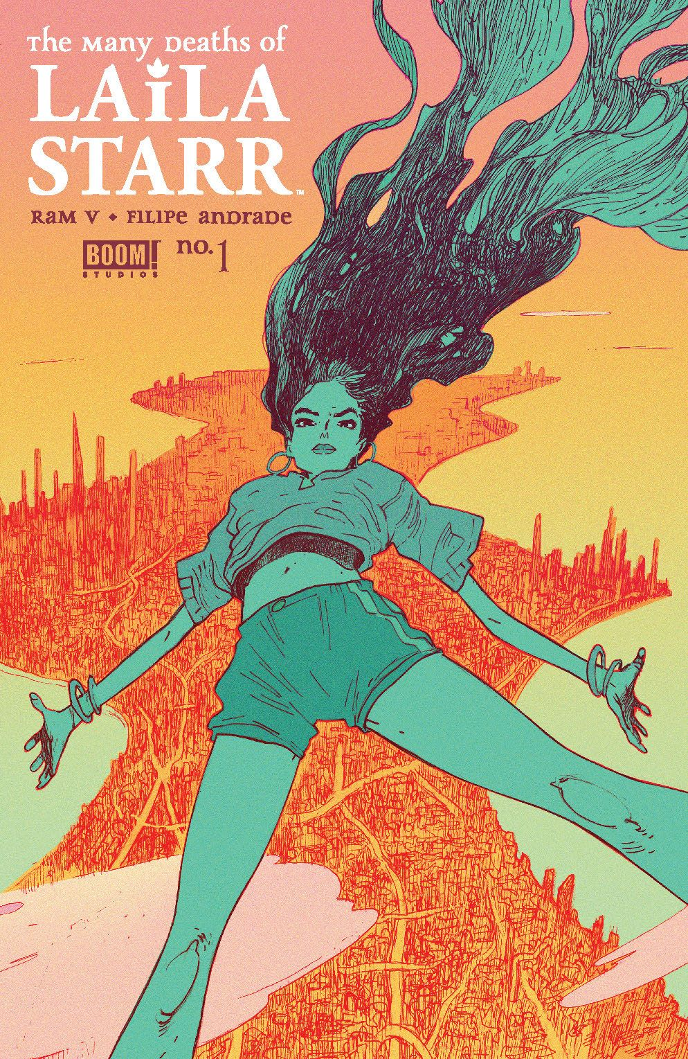 ManyDeathsLailaStarr_001_Cover_A_Main ComicList Previews: THE MANY DEATHS OF LAILA STARR #1