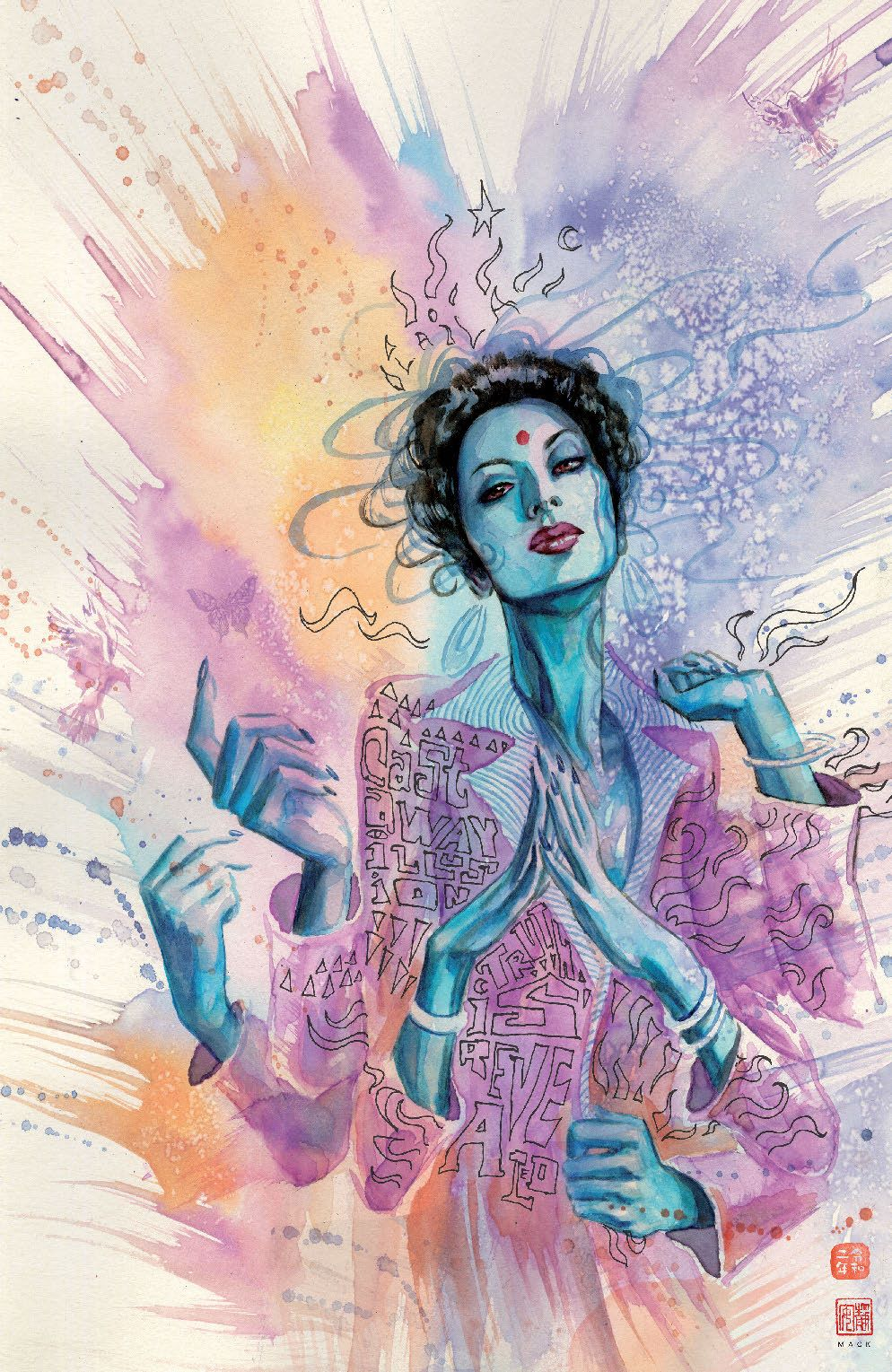 ManyDeathsLailaStarr_001_Cover_D_EternalDeathFoil ComicList Previews: THE MANY DEATHS OF LAILA STARR #1