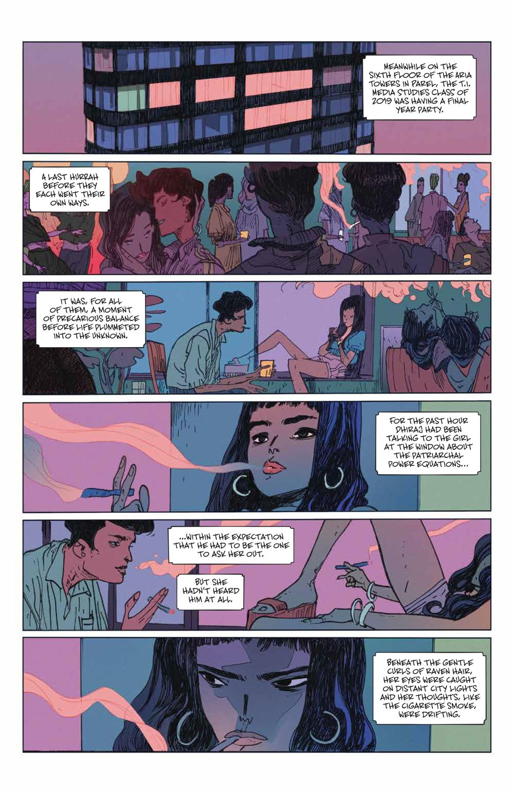ManyDeathsLailaStarr_001_PRESS_5 ComicList Previews: THE MANY DEATHS OF LAILA STARR #1
