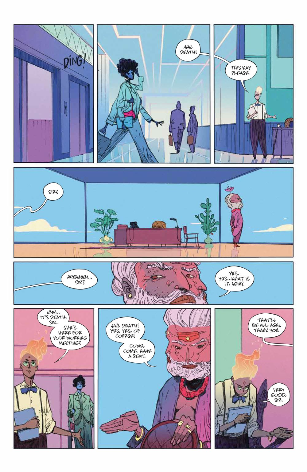 ManyDeathsLailaStarr_001_PRESS_7 ComicList Previews: THE MANY DEATHS OF LAILA STARR #1