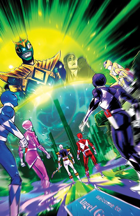 MightyMorphin_006_Cover_E_Variant ComicList Previews: MIGHTY MORPHIN #6