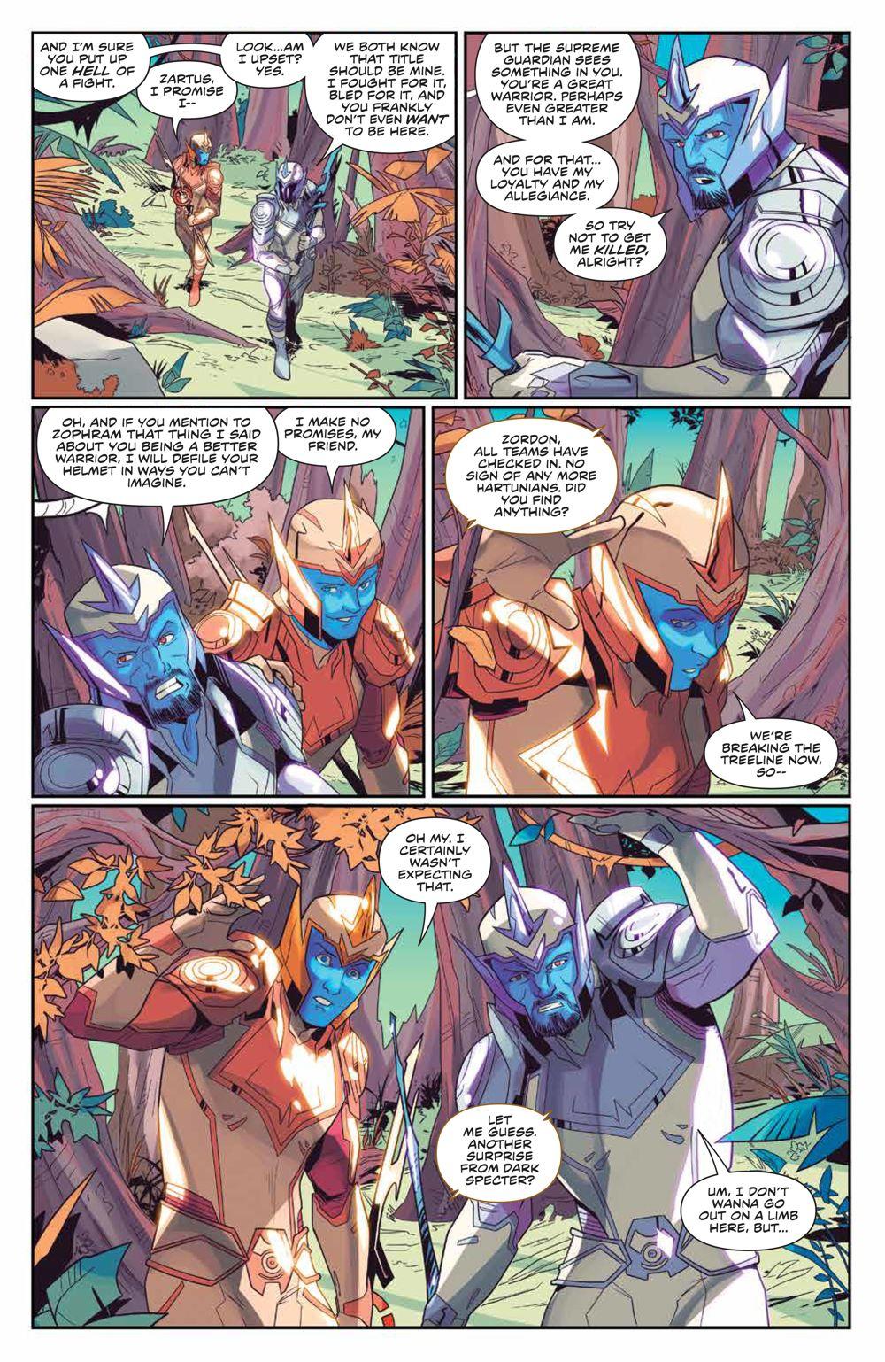 MightyMorphin_006_PRESS_5 ComicList Previews: MIGHTY MORPHIN #6