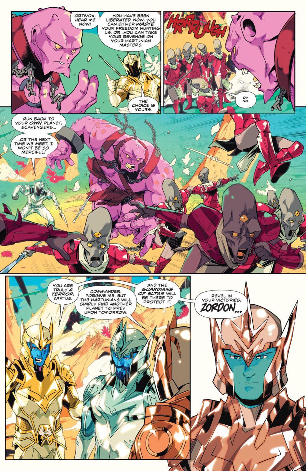 MightyMorphin_v1_SC_PRESS_10 ComicList Previews: MIGHTY MORPHIN VOLUME 1 TP