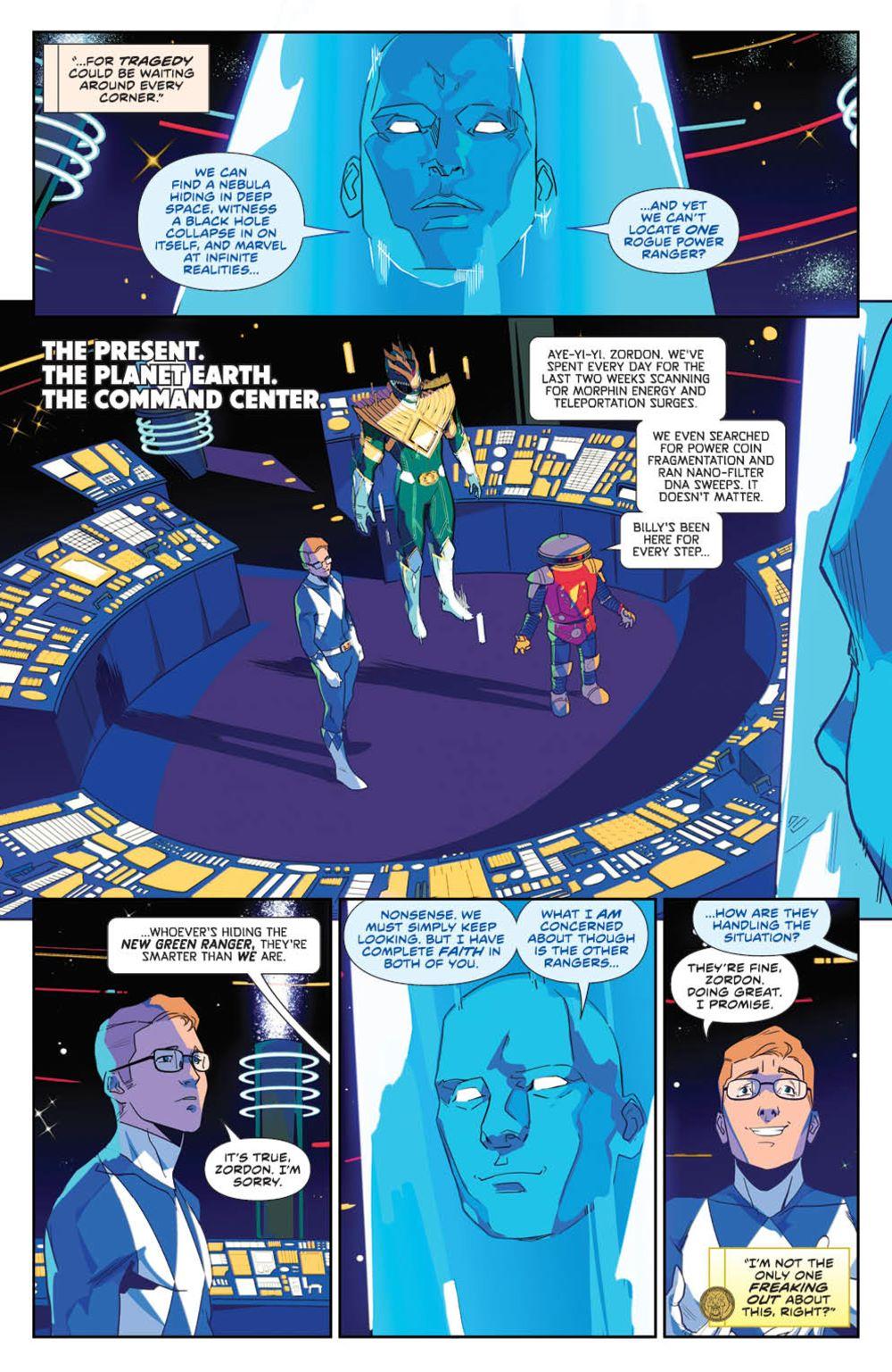 MightyMorphin_v1_SC_PRESS_11 ComicList Previews: MIGHTY MORPHIN VOLUME 1 TP