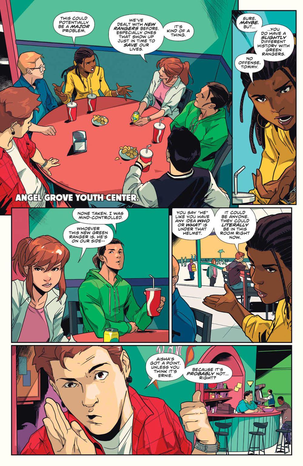 MightyMorphin_v1_SC_PRESS_12 ComicList Previews: MIGHTY MORPHIN VOLUME 1 TP