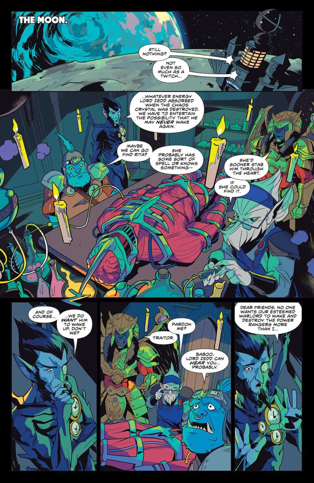 MightyMorphin_v1_SC_PRESS_15 ComicList Previews: MIGHTY MORPHIN VOLUME 1 TP