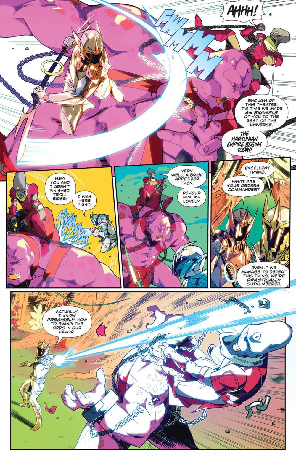 MightyMorphin_v1_SC_PRESS_9 ComicList Previews: MIGHTY MORPHIN VOLUME 1 TP