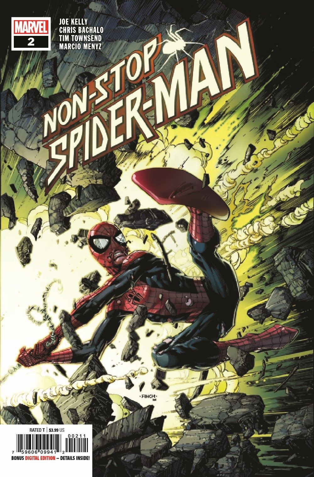 NONSTOPSM2021002_Preview-1 ComicList Previews: NON-STOP SPIDER-MAN #2
