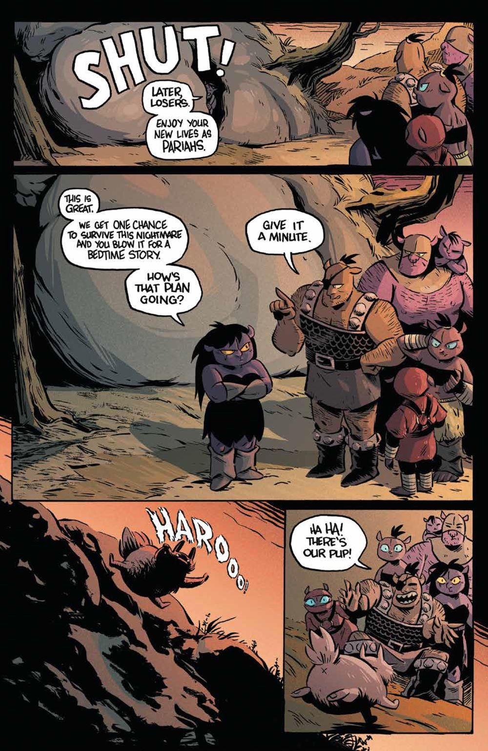 Orcs_003_PRESS_3 ComicList Previews: ORCS #3 (OF 5)