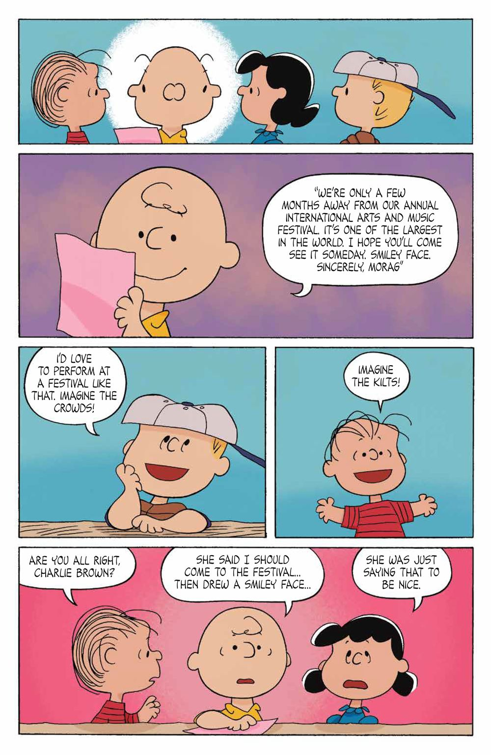 Peanuts_OGN_ScotlandBound_SC_PRESS_15 ComicList Previews: PEANUTS SCOTLAND BOUND CHARLIE BROWN GN