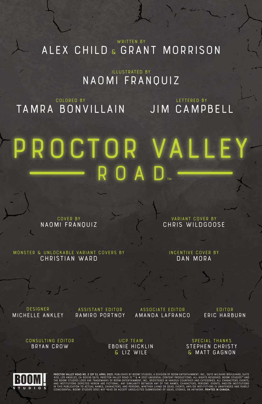 ProctorValleyRoad_002_PRESS_2 ComicList Previews: PROCTOR VALLEY ROAD #2 (OF 5)