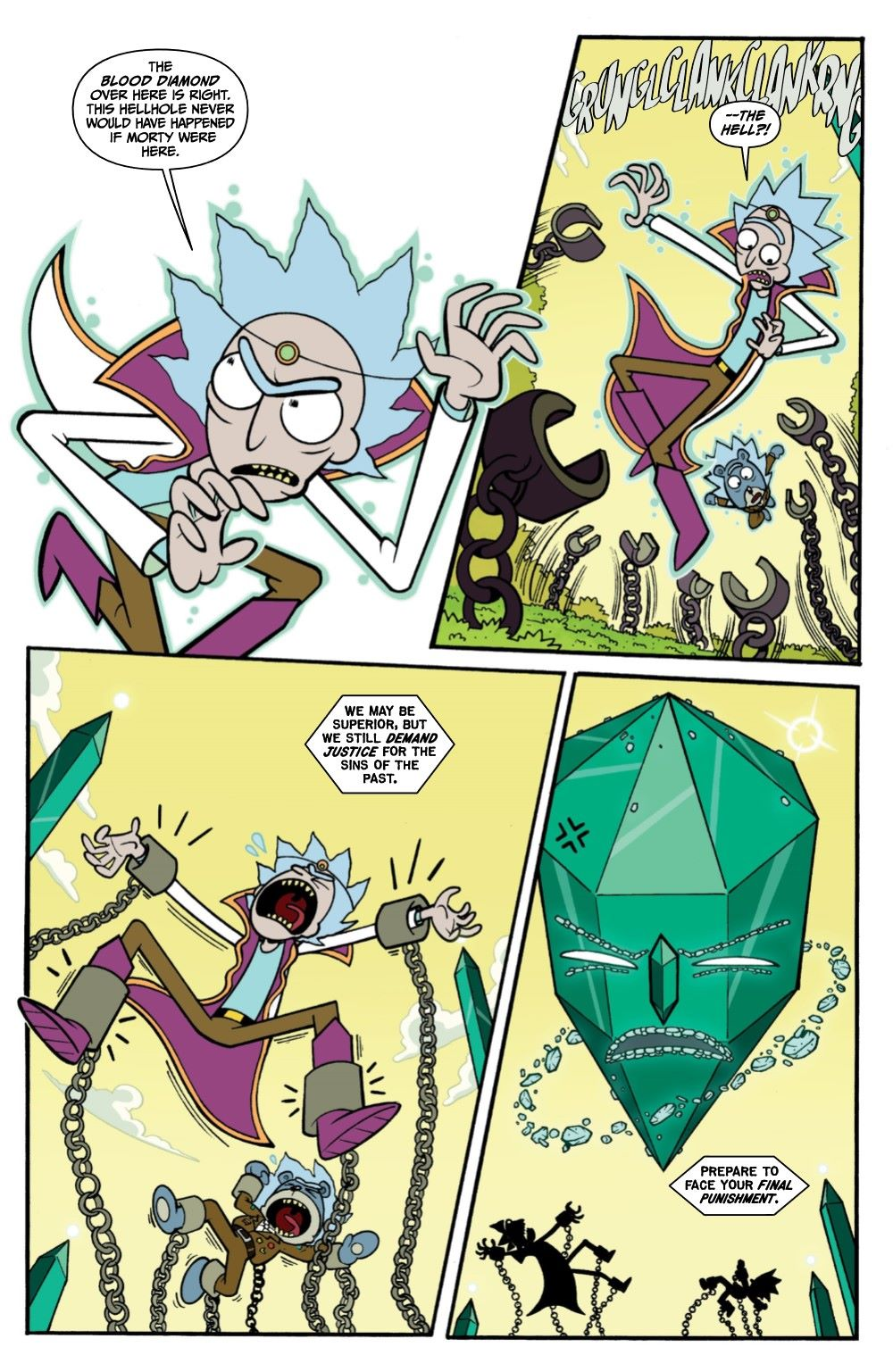 RICKMORTY-WORLDSAPART-4-REFERENCE-06 ComicList Previews: RICK AND MORTY WORLDS APART #4