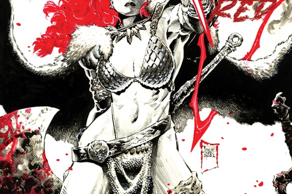 RSBWR-01-01031-C-Tan RED SONJA: BLACK, WHITE, RED to feature the finest talent