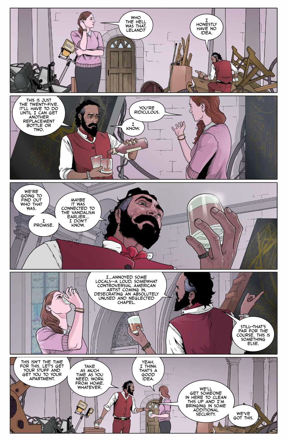 RedMother_v3_SC_PRESS_19 ComicList Previews: RED MOTHER VOLUME 3 TP