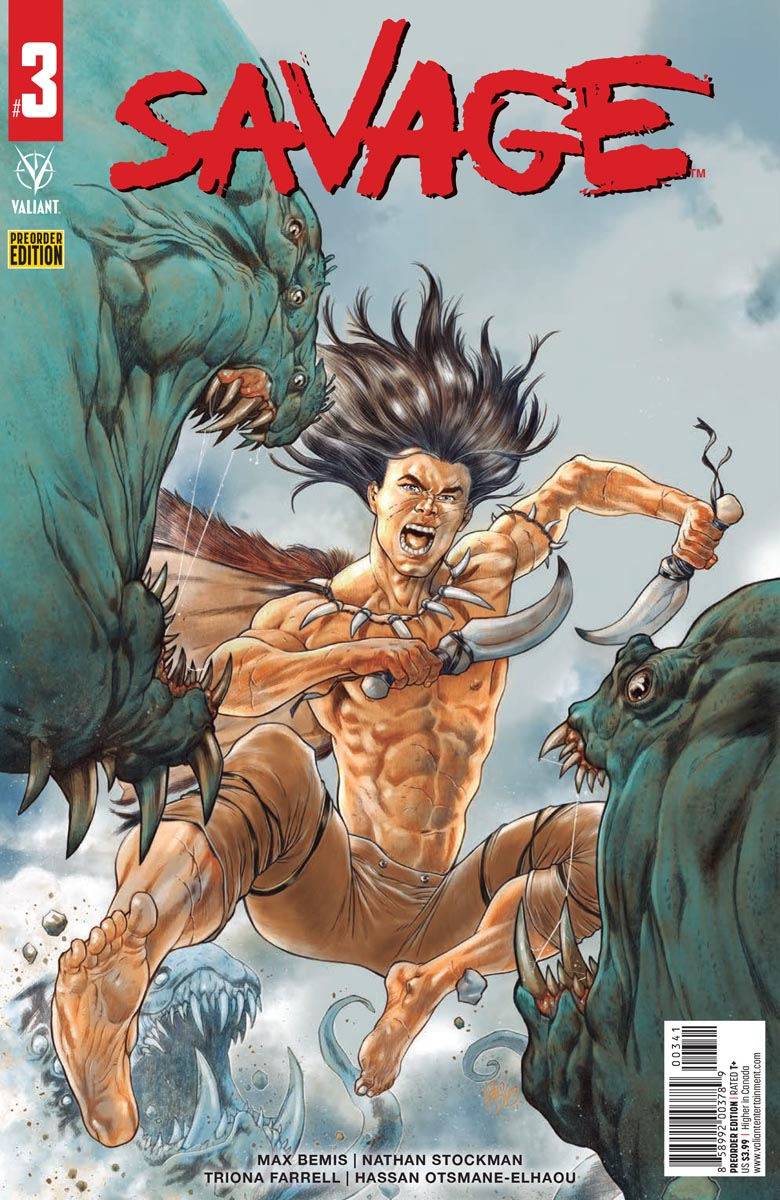 SAVAGE_3_PREORDER_COVER ComicList Previews: SAVAGE #3