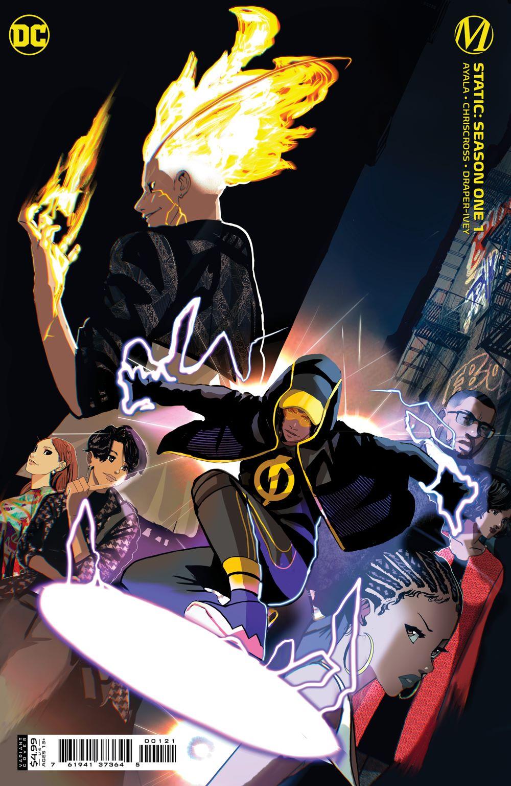 STATIC_Cv1_Var-copy DC Comics July 2021 Solicitations