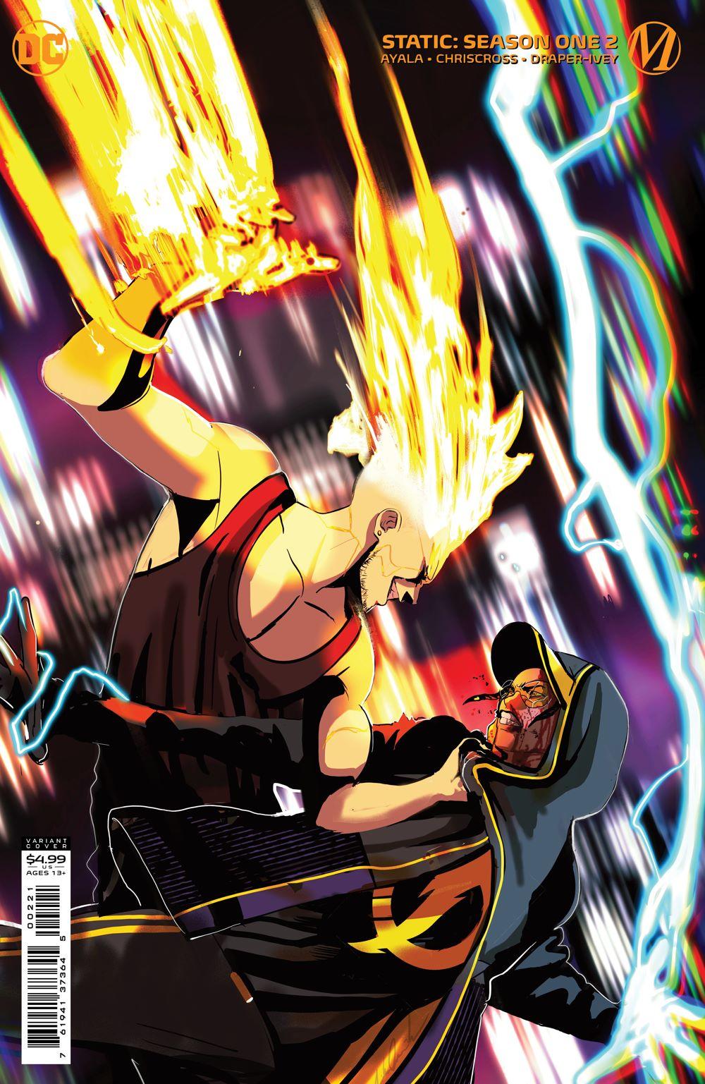 STATIC_Cv2_Var DC Comics July 2021 Solicitations